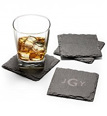 Image of Personalized Slate Coasters