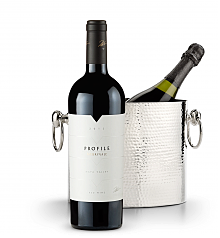 Wine Accessories & Decanters: Merryvale Profile 2012 with Luxury Wine Chiller