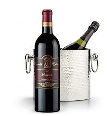 Wine Accessories & Decanters: Leonetti Reserve Red 2013 with Luxury Wine Chiller