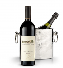 Wine Accessories & Decanters: Robert Mondavi Reserve Cabernet Sauvignon 2013 with Luxury Wine Chiller