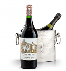 Wine Accessories & Decanters: Chateau Haut-Brion 2006 with Luxury Wine Chiller