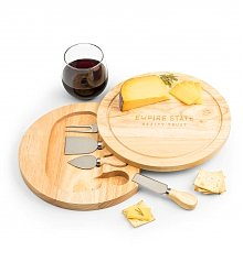 Image of Engraved Cheese Board with Tools