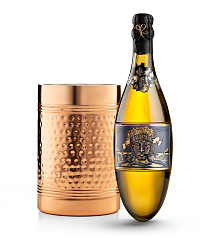 Wine Accessories & Decanters: Kripta Brut Nature Cava Gran Reserva 2008 with Double Walled Wine Chiller