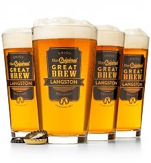 Image of The Original Great Brew Personalized Pint Glasses