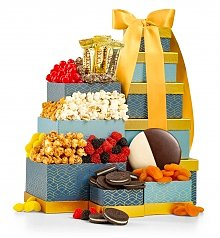 Image of Gourmet Sweets & Treats Tower