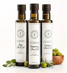 Image of Zakarian Herb Greek Olive Oil Set