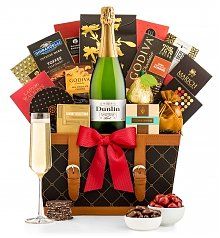 Image of Champagne Wishes Gift Basket