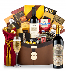 Premium Wine Baskets: Far Niente Estate Bottled Cabernet Sauvignon 2013 Windsor Luxury Gift Basket