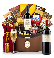 Premium Wine Baskets: Colgin Cellars Cariad Red Blend 2012 Windsor Luxury Gift Basket