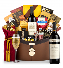 Premium Wine Baskets: Beringer Private Reserve Cabernet Sauvignon 2012 Windsor Luxury Gift Basket