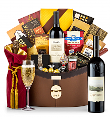 Premium Wine Baskets: Quintessa Meritage Red 2013 Windsor Luxury Gift Basket