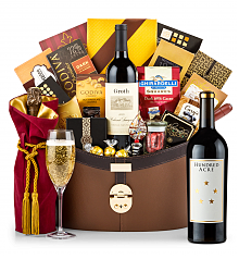 Premium Wine Baskets: Hundred Acre Few And Far Between Cabernet Sauvignon 2012 Windsor Luxury Gift Basket