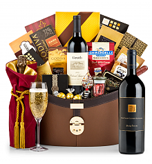 Premium Wine Baskets: Darioush Signature Cabernet Sauvignon 2014 Windsor Luxury Gift Basket