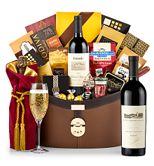 Premium Wine Baskets: Robert Mondavi Reserve Cabernet Sauvignon 2013 Windsor Luxury Gift Basket