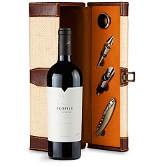Wine Totes & Carriers: Merryvale Profile 2012 Wine Steward Luxury Caddy