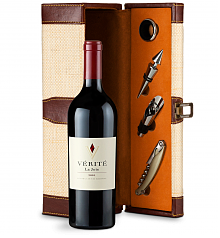 Wine Totes & Carriers: Verite La Joie Cabernet Sauvignon 2010 Wine Steward Luxury Caddy