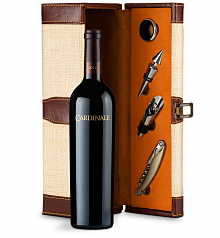 Wine Totes & Carriers: Cardinale Cabernet Sauvignon 2012 Wine Steward Luxury Caddy