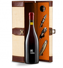 Wine Totes & Carriers: 00 Shea Vineyard Pinot Noir 2014 Wine Steward Luxury Caddy
