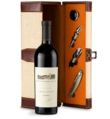 Wine Totes & Carriers: Robert Mondavi Reserve Cabernet Sauvignon 2013 Wine Steward Luxury Caddy
