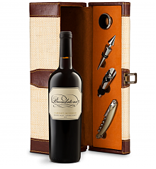 Wine Totes & Carriers: Broadstone Sonoma County Knights Valley Cabernet Sauvignon Wine Steward Luxury Caddy