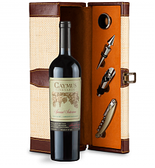 Wine Totes & Carriers: Caymus Special Selection Cabernet Sauvignon 2016 Luxury Caddy