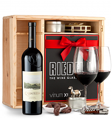 Wine Gift Boxes: Quintessa Meritage Red 2013 Private Cellar Gift Set