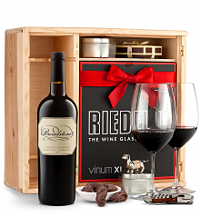 Wine Gift Boxes: Broadstone Sonoma County Knights Valley Cabernet Sauvignon Private Cellar Gift Set