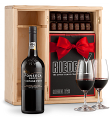 Port Gift Sets: Fonseca Vintage 2016 Premier Port Gift Set