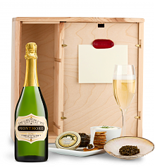 Champagne & Caviar: Chateau Montmore North Coast Brut Ultimate Champagne and Caviar Experience