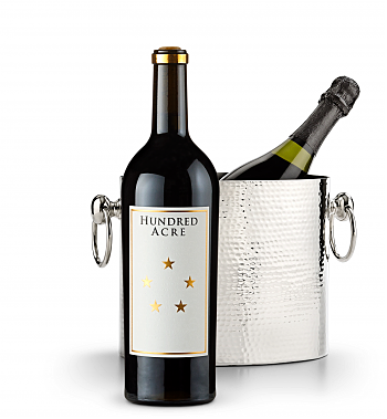 Wine Accessories & Decanters: Hundred Acre Kayli Morgan Cabernet Sauvignon 2014 with Luxury Wine Chiller