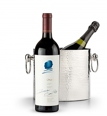Wine Accessories & Decanters: Opus One 2015 with Luxury Wine Chiller