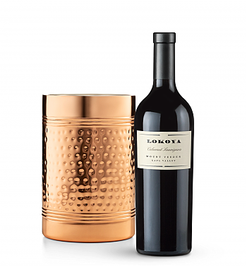 Wine Accessories & Decanters: Lokoya Mt. Veeder Cabvernet Sauvignon 2011 with Double Walled Wine Chiller