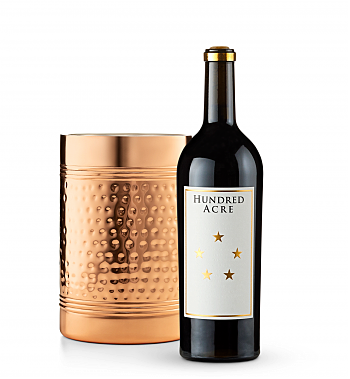 Wine Accessories & Decanters: Hundred Acre Kayli Morgan Cabernet Sauvignon 2014 with Double Walled Wine Chiller