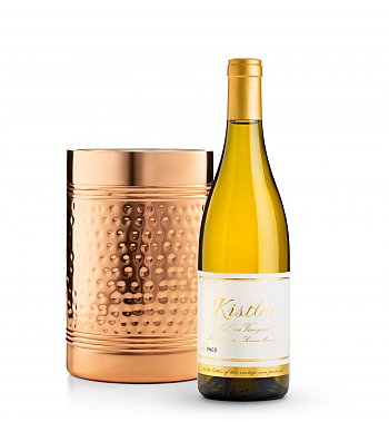 Wine Accessories & Decanters: Kistler Vineyard McCrea Chardonnay Sonoma Mountain 2016 with Double Walled Wine Chiller