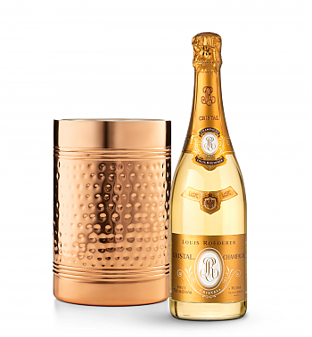 Wine Accessories & Decanters: Louis Roederer Cristal Brut 2005 with Double Walled Wine Chiller