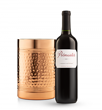 Wine Accessories & Decanters: Polmanter Yountville Napa Valley Cabernet Sauvignon with Double Walled Wine Chiller