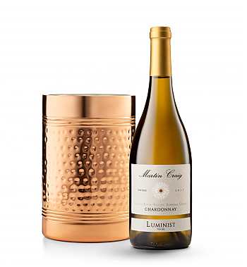 Wine Accessories & Decanters: Martin Craig Luminist Russian River Chardonnay with Double Walled Wine Chiller