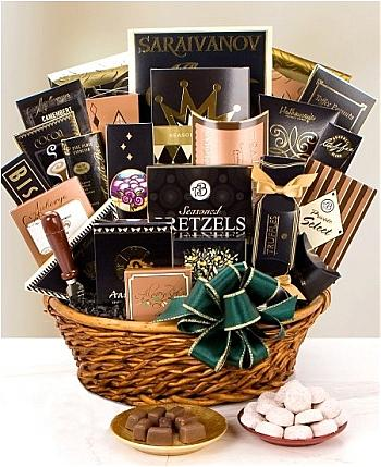 Luxury Gift Baskets: Grand Impressions Gourmet Gift Basket