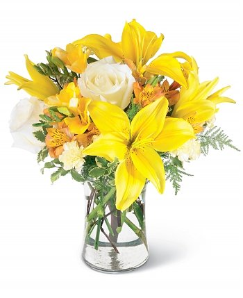 Flower Bouquets: Get Well Sunshine Bouquet