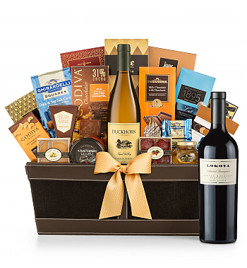 Premium Wine Baskets: Lokoya Spring Mountain Cabernet Sauvignon 2005 - Cape Cod Luxury Wine Basket