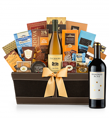 Premium Wine Baskets: Hundred Acre Kayli Morgan Cabernet Sauvignon 2013 - Cape Cod Luxury Wine Basket