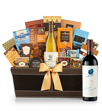 Premium Wine Baskets: Opus One 2014 - Cape Cod Luxury Wine Basket