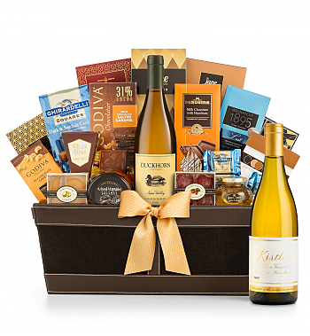 Premium Wine Baskets: Kistler Vineyard McCrea Chardonnay Sonoma Mountain 2016 - Cape Cod Luxury Wine Basket