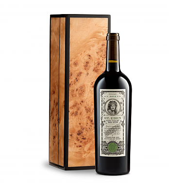 Wine Gift Boxes: Bond St. Eden 2013 in Handcrafted Burlwood Box