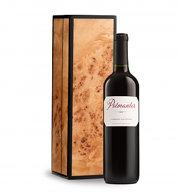 Wine Gift Boxes: Polmanter Yountville Napa Valley Cabernet Sauvignon in Burlwood Box