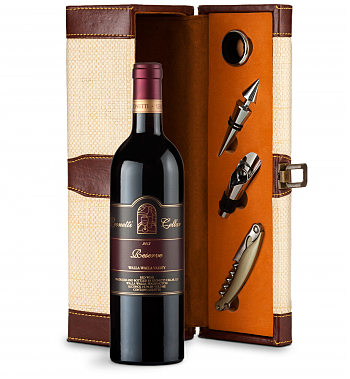 Wine Totes & Carriers: Leonetti Reserve Red 2013 Wine Steward Luxury Caddy
