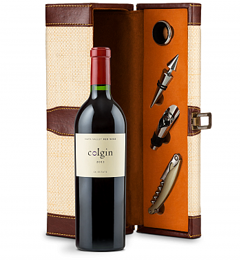 Wine Totes & Carriers: Colgin Cellars Cariad Red Blend 2012 Wine Steward Luxury Caddy