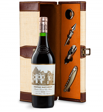 Wine Totes & Carriers: Chateau Haut-Brion 2006 Wine Steward Luxury Caddy