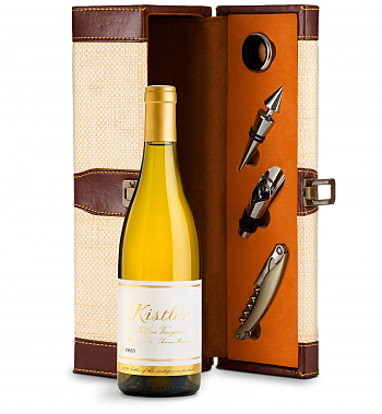 Wine Totes & Carriers: Kistler Vineyard McCrea Chardonnay Sonoma Mountain 2016 Wine Steward Luxury Caddy