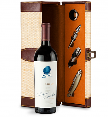 Wine Totes & Carriers: Opus One 2015 Wine Steward Luxury Caddy